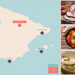 Take a Culinary Trip around Europe with this Stunning Interactive Graphic